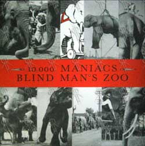 10--000 MANIACS - Blind Man's Zoo - 1