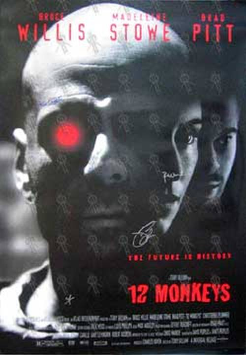 12 Monkeys 12 Monkeys Movie Poster Posters Regular