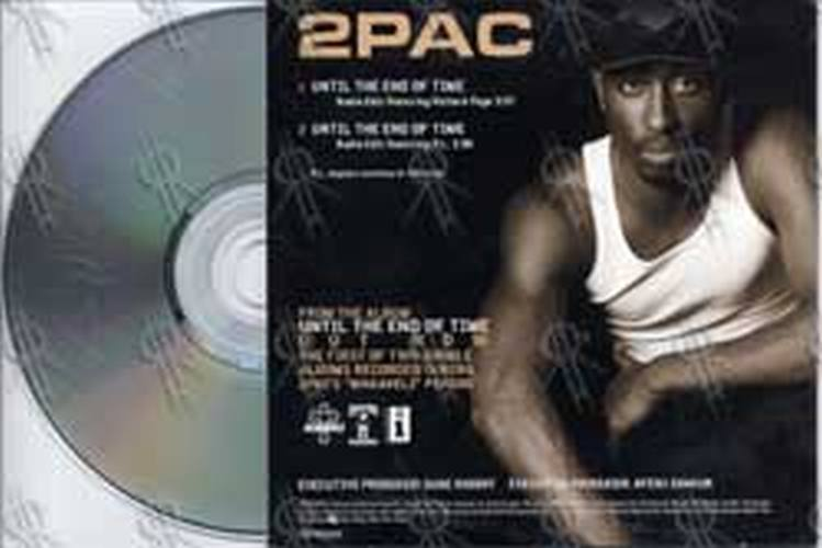 2pac Until The End Of Time Cd Single Ep Rare Records