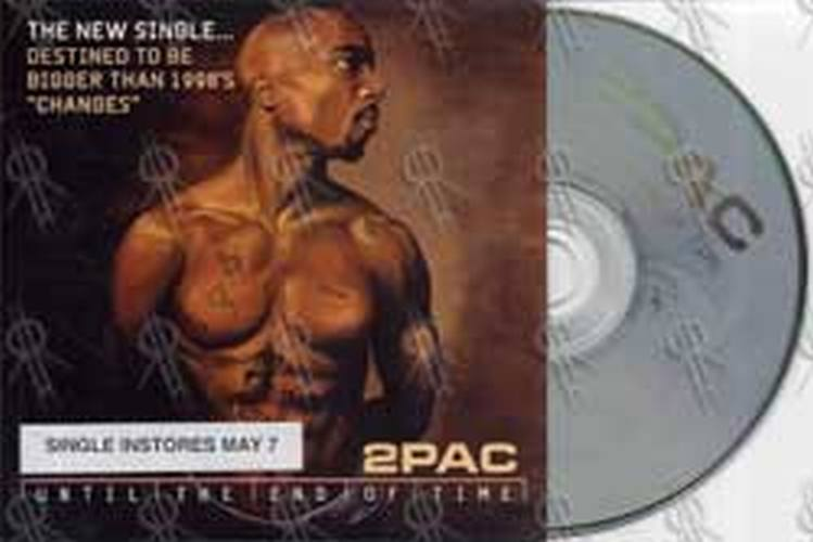 2PAC - Until The End Of Time (CD, Single / EP) | Rare Records