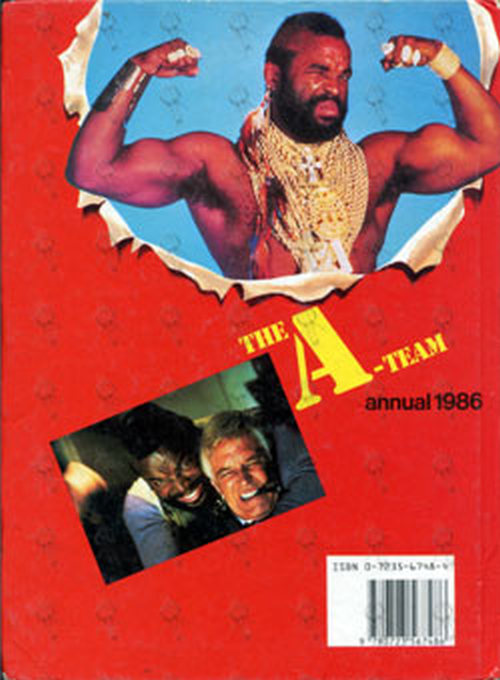 A-TEAM-- THE - Annual 1986 - 2