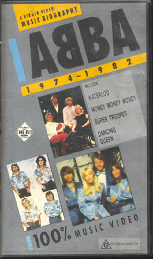 ABBA - A Virgin Music Video Biography - 1974 - 1982 - 1
