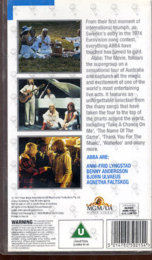 ABBA - The Movie - In Concert - 2