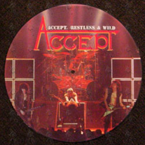 Accept Restless And Wild 12 Inch Lp Vinyl Rare Records - Www