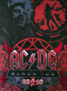 AC/DC - 'Black Ice' World Tour Program 2010 - 1