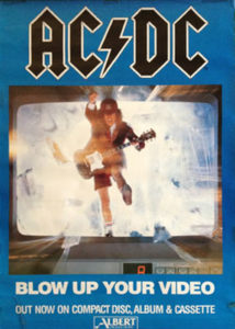 AC/DC - 'Blow Up Your Video' - 1
