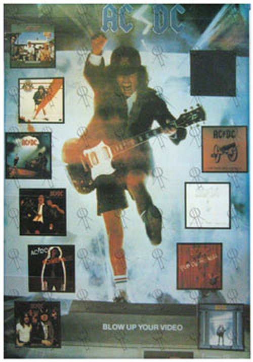 AC/DC - 'Blow Up Your Video' Album Poster - 1