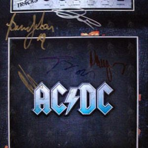 AC/DC - Colour 'Backtracks' 16 x 12 Promo Photograph - 1