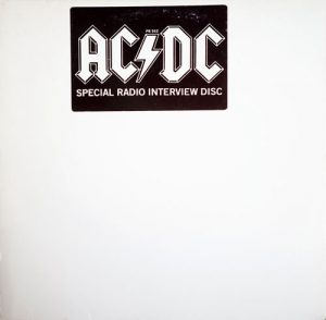 AC/DC - Special Radio Interview Disc - 1