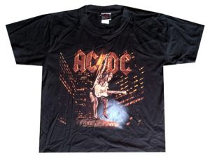 AC/DC - Stiff Upper Lip Black T-shirt - 1