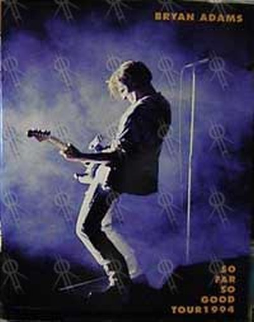 ADAMS-- BRYAN - 'So Far So Good Tour 1994' Program - 1