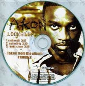 AKON - I Can't Wait (clean edit) (CD) | Rare Records