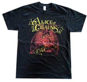 ALICE IN CHAINS - Heart Design Black US Tour T-Shirt - 1