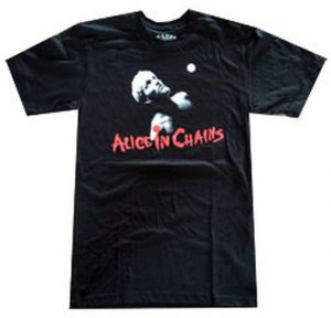 ALICE IN CHAINS - Layne Face Design Black T-Shirt - 1