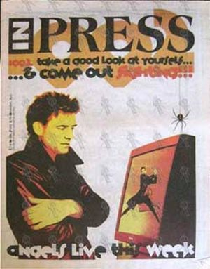 ANGELS-- THE - 'Inpress' - 27th December 1991 - Doc Neeson On Cover - 1