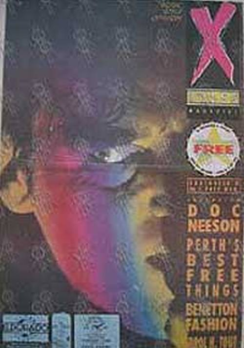 ANGELS-- THE - 'XPress' - No.117 11 May 1989 - Doc Neeson On The Cover - 1