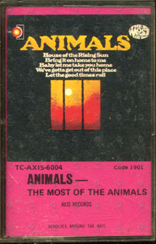 ANIMALS-- THE - The Most Of The Animals - 1