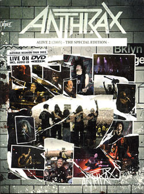 ANTHRAX - Alive 2 - 1