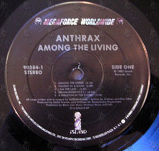 ANTHRAX - Among The Living (12 Inch / LP, Vinyl) | Rare ...