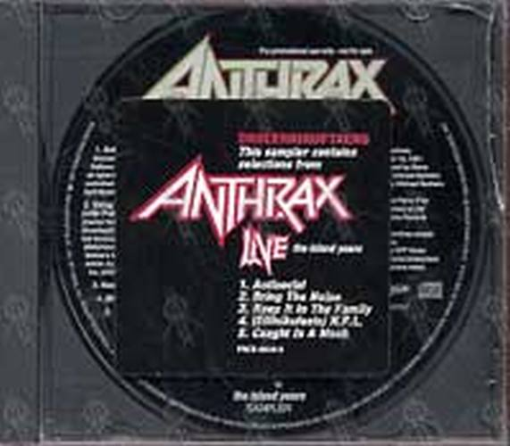 ANTHRAX - Live: The Island Years - 1