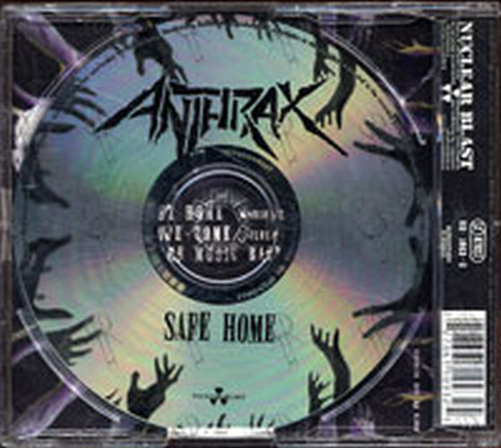 ANTHRAX - Safe Home - 2