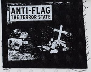 ANTI-FLAG - 'The Terror State' Design Sew-On Patch - 1