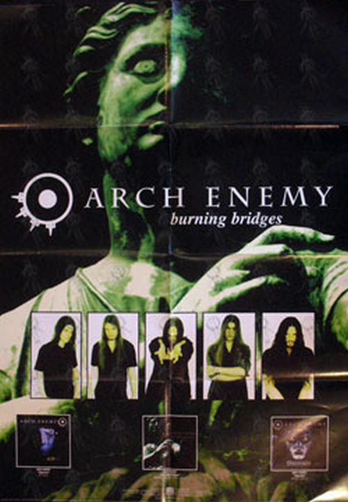 ARCH ENEMY - 'Burning Bridges' Album Promo Poster - 1