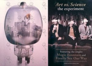 art vs science the experiment album poster posters regular