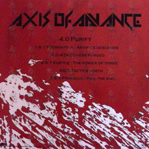 AXIS OF ADVANCE - Purify - 2