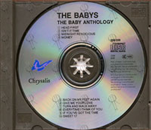 Babys The The Babys Anthology Album Cd Rare Records