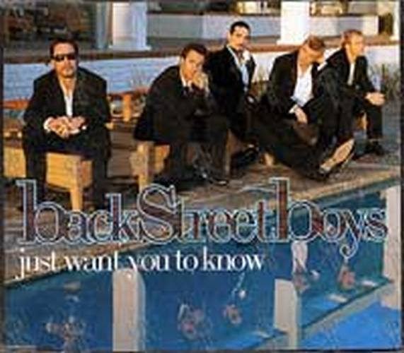 BACKSTREET BOYS - Just Want You To Know - 1