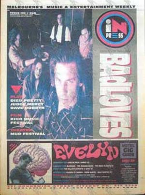 BADLOVES-- THE - 'Inpress' - 21st July 1993 - The Badloves On Cover - 1