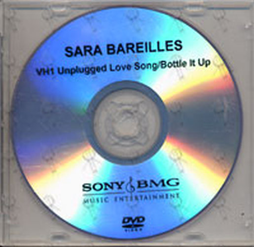 BAREILLES-- SARA - Love Song / Bottle It Up (VH1 Unplugged) - 1