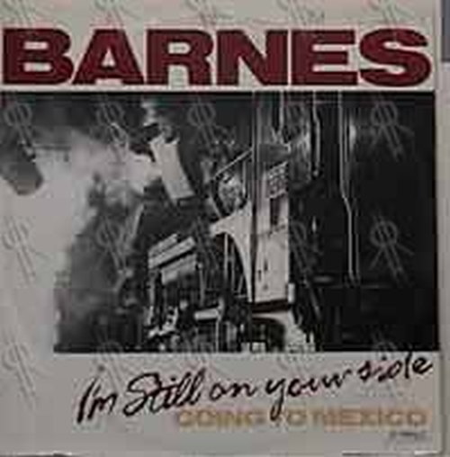BARNES-- JIMMY - I'm Still On Your Side - 1