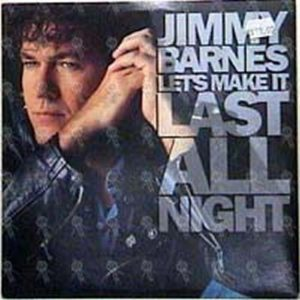 BARNES-- JIMMY - Let's Make It Last All Night - 1