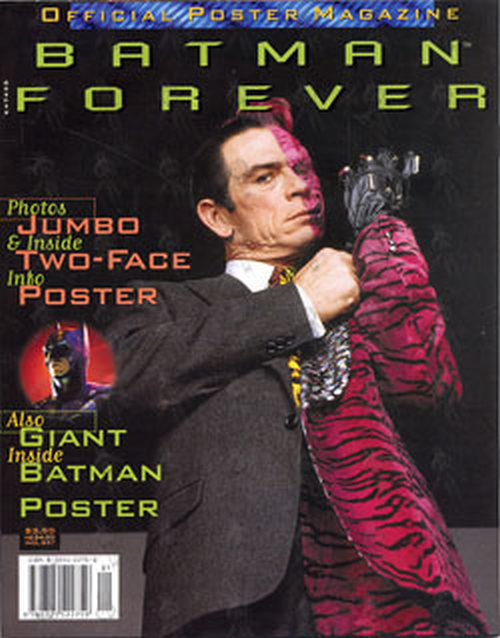 Batman Batman Forever Official Poster Magazine
