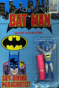 BATMAN - Sky Diving Parachutist Figure - 1