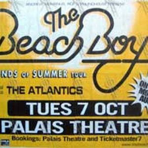 BEACH BOYS-- THE - Palais Theatre