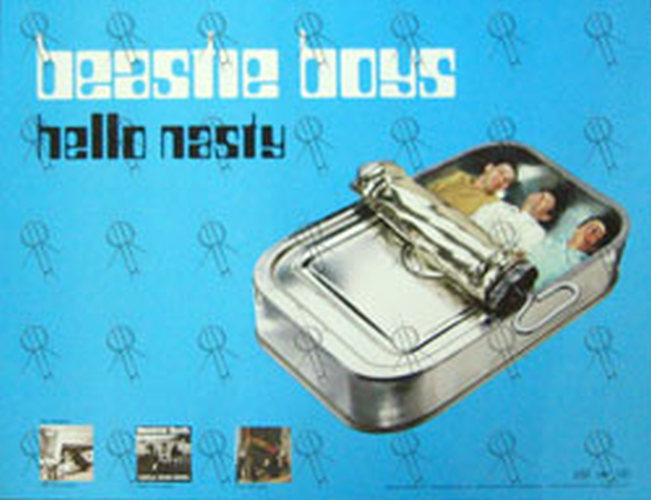 Beastie Boys Hello Nasty Album Poster Posters Regular Sizes