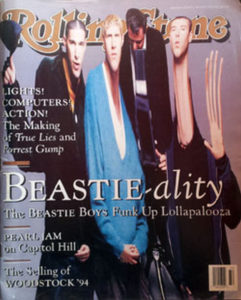 BEASTIE BOYS - 'Rolling Stone' - Aug 1994 - Beastie Boys On Cover - 1