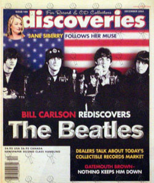 BEATLES-- THE - 'Discoveries' - December 2004 - The Beatles On Front Cover - 1