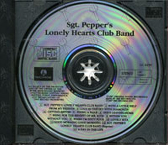 Beatles The Sgt Pepper S Lonely Hearts Club Band Album