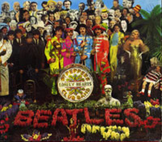 BEATLES-- THE - Sgt Pepper's Lonely Hearts Club Band - 1