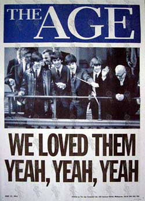 BEATLES-- THE - 'The Age' - June 12 2004 - Newsagent - 1