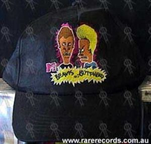 BEAVIS AND BUTTHEAD - Black Embroidered Cap - 1