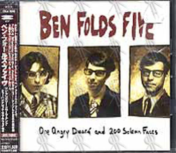 BEN FOLDS FIVE - One Angry Dwarf And 200 Solemn Faces - 1