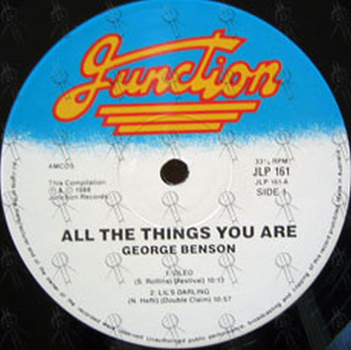 BENSON-- GEORGE - All The Things You Are - 3
