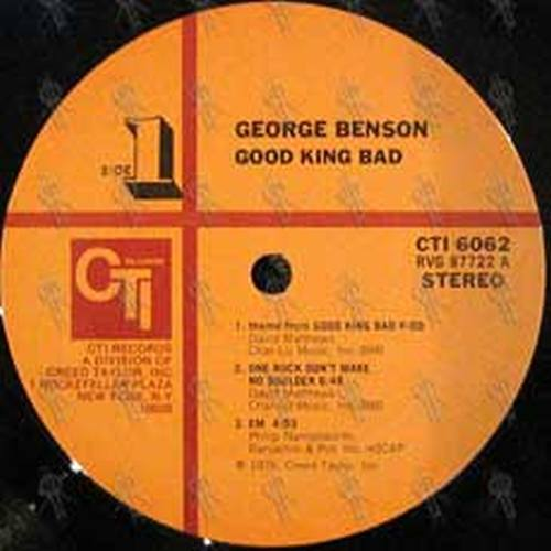 BENSON-- GEORGE - Good King Bad - 4