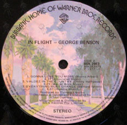 BENSON-- GEORGE - In Flight - 4