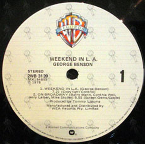 BENSON-- GEORGE - Weekend In L.A. - 4